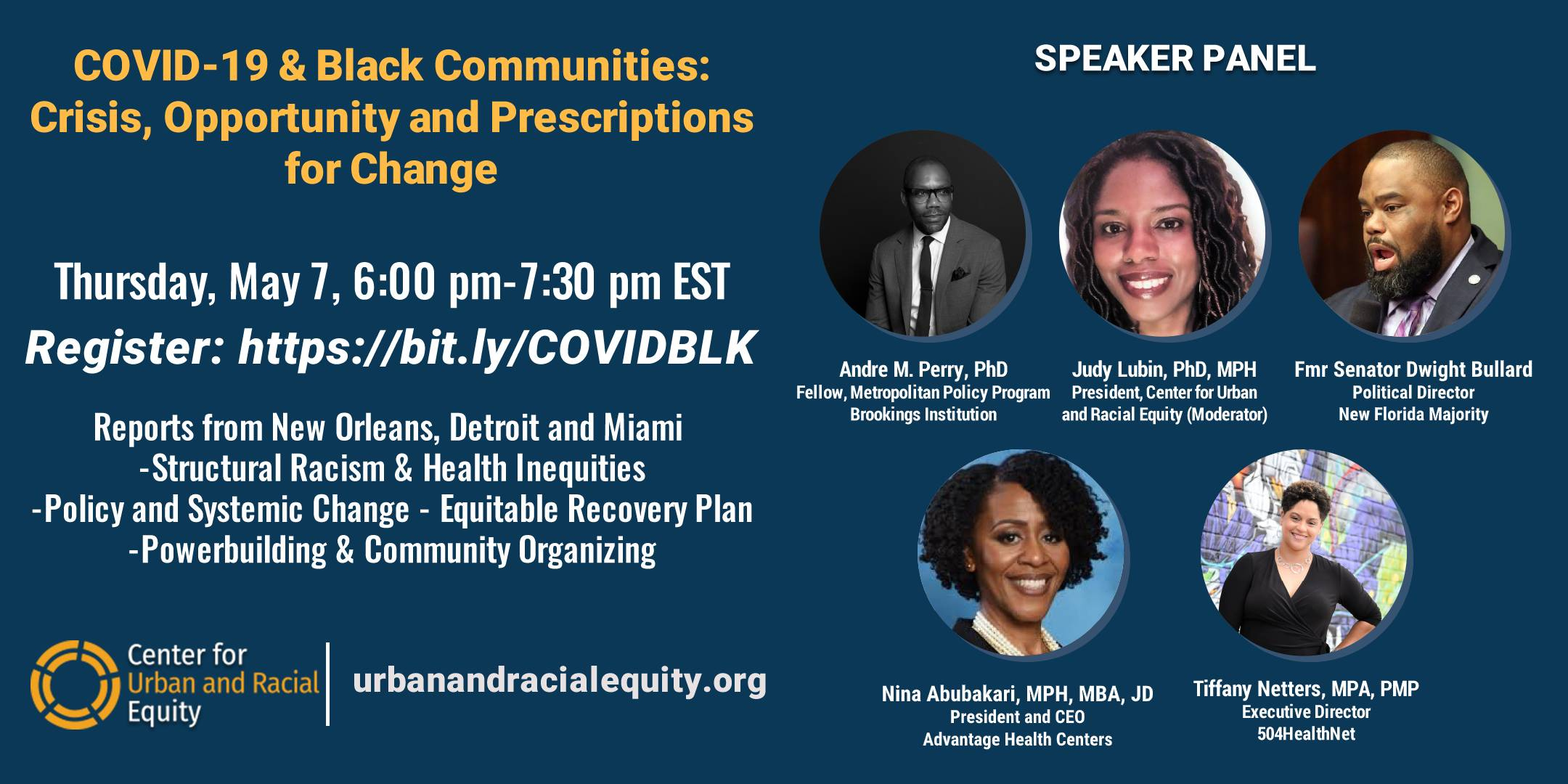 COVID-19 & Black Communities: Crisis, Opportunity and Prescriptions for Change
